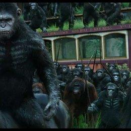 Affen nicht wollen Krieg - Szene Poster