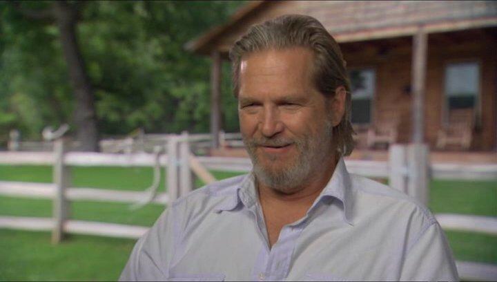 Jeff Bridges (Rooster Cogburn) über Matt Damon - OV-Interview Poster