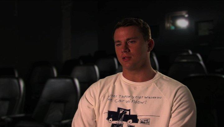 Channing Tatum über Jenko Motivation Polizist zu werden - OV-Interview Poster