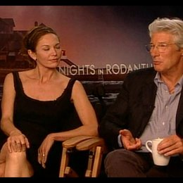 Diane Lane & Richard Gere - Interview Poster