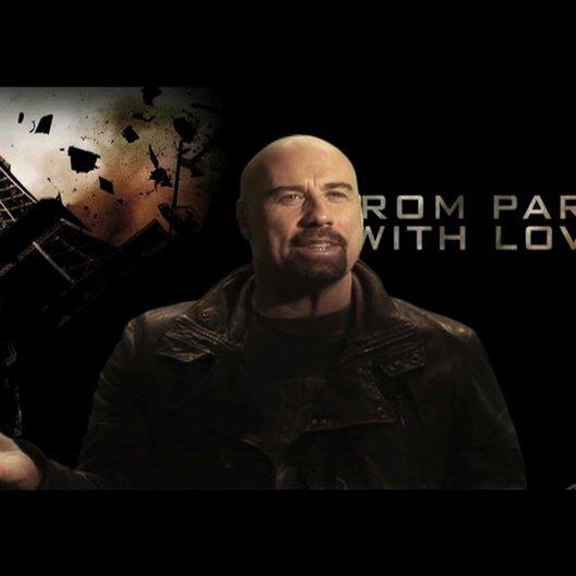 """John Travolta (""""Wax"""") über seine actionreichste Rolle in der bisherigen Karriere - OV-Interview Poster"""