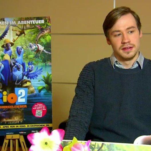 David Kross - Blu - über Roberto - Interview Poster