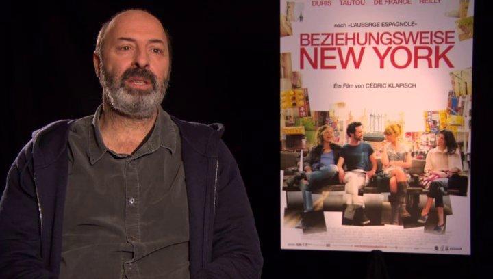 Cedric Klapisch - Regisseur - über die Zusammenarbeit mit den Schauspielern - OV-Interview Poster