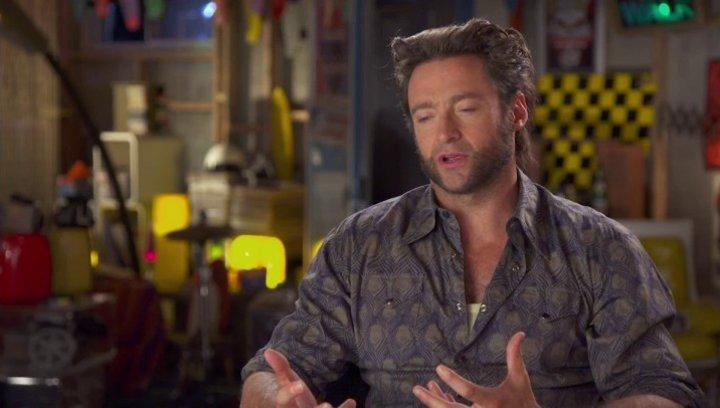 Hugh Jackman - Wolverine - über Wolverines Rolle in dem Film - OV-Interview Poster