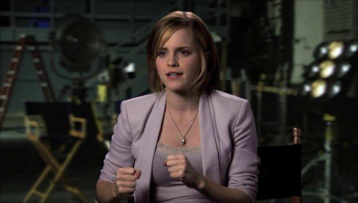 Emma Watson über die Story - OV-Interview Poster