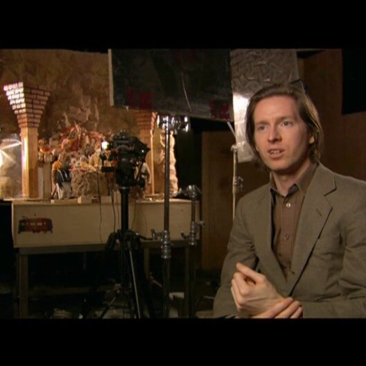 Wes Anderson über Stop-Motion - OV-Interview Poster