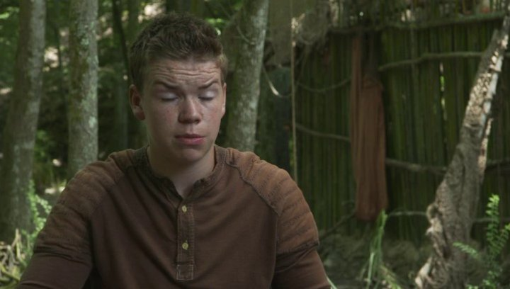 Will Poulter - Gally - über Thomas - OV-Interview Poster