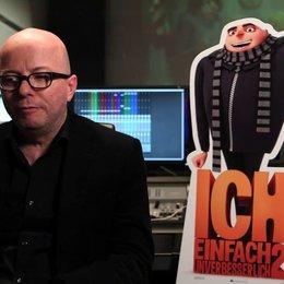 Oliver Rohrbeck über 3D - Interview Poster