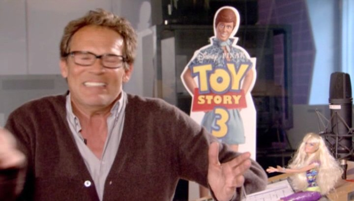 CHRISTIAN TRAMITZ / Ken über TOY STORY die Charaktere Lob - Interview Poster
