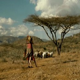 Die weiße Massai - Trailer Poster