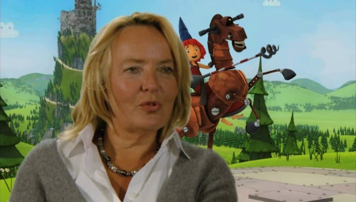 Gabriele Walther über das Buch - Interview Poster