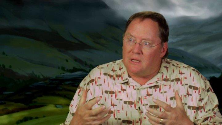 John Lasseter - Executive Producer - über die Animation - OV-Interview Poster