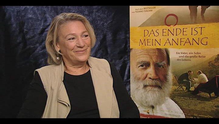 Angela Terzani über Tiziano Terzanis mögliche Reaktion auf den Film - Interview Poster