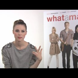 Lena Meyer Landrut über den Song What a Man - Interview Poster