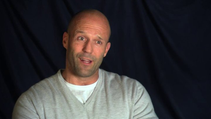 Jason Statham - Phil Broker - über das Drehbuch - OV-Interview Poster