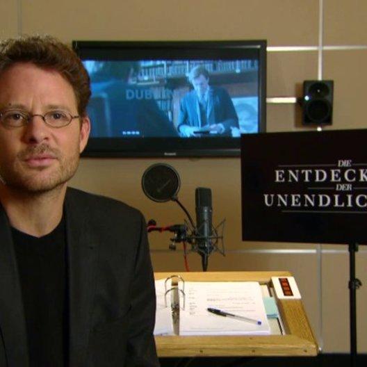 Timmo Niesner über die Lebensgeschichte von Stephen Hawking - Interview Poster