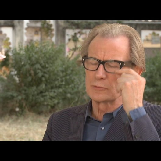 Bill Nighy - Douglas - über John Madden - OV-Interview Poster
