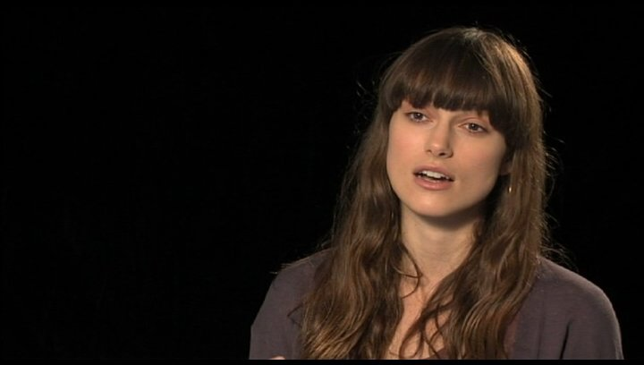 Keira Knightley über ihren Character - OV-Interview Poster