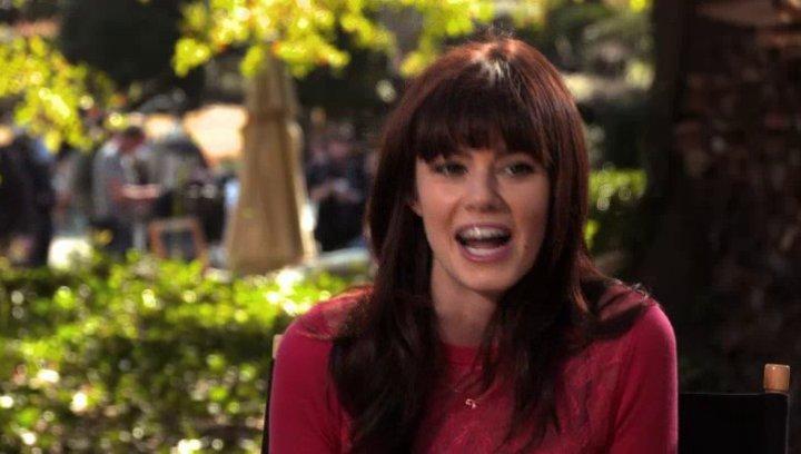 Rachel Melvin über die Zusammenarbeit mit Jim Carrey - OV-Interview Poster