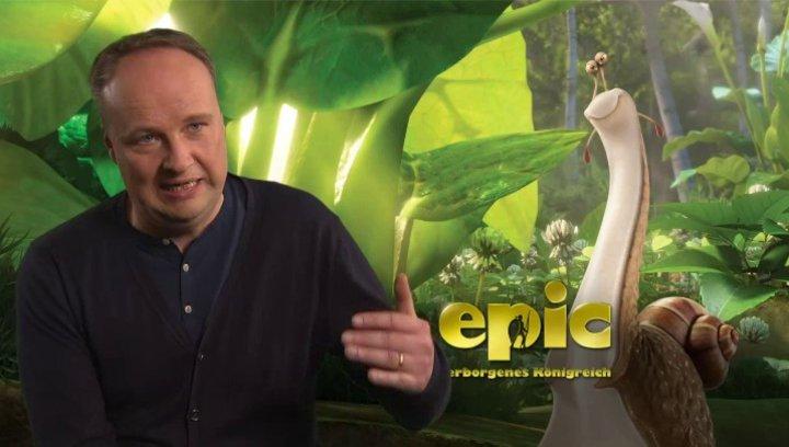 Oliver Welke -Grub- über Mandrake - Interview Poster