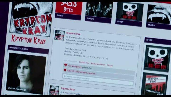 Krypton Krax ist in der Stadt - Szene Poster