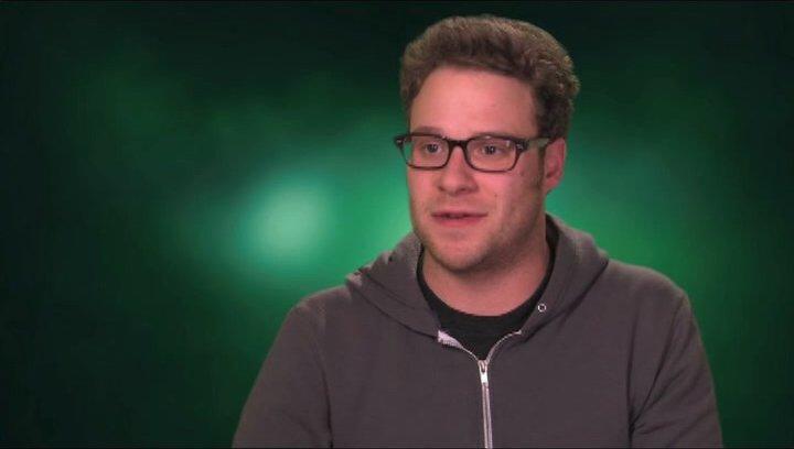 Seth Rogen über Cameron Diaz - OV-Interview Poster