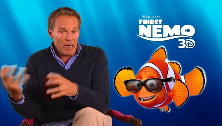 Christian Tramitz - Synchronstimme Marlin - über Findet Nemo in 3D - Interview Poster