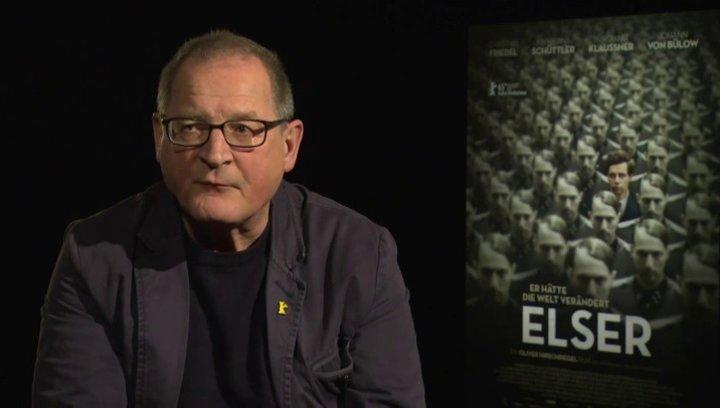 Burghart Klaussner (Arthur Nebe) über Elser als hellsichtiger Mensch, Märtyrer und Attentäter, über seinen Charakter Arthur Nebe, darüber, was den Zus Poster