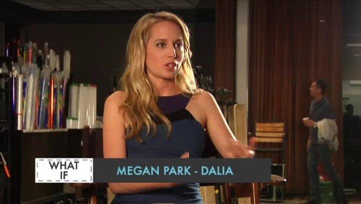 Megan Park - Dalia - über das Drehbuch - OV-Interview Poster