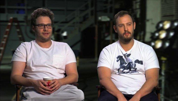 Seth Rogen und Evan Goldberg über die Chemie zwischen den einzelnen Darstellern - OV-Interview Poster