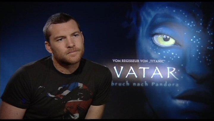 Interview mit Sam Worthington - OV-Interview Poster