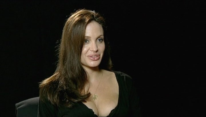 Interview mit Angelina Jolie (Fox) - OV-Interview Poster