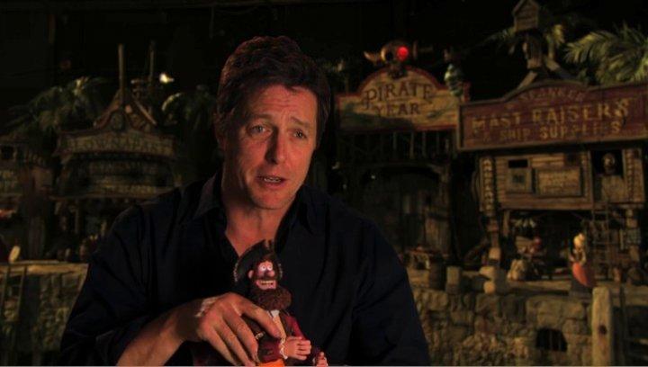 Hugh Grant über die Feinde des Piratenkapitaens - OV-Interview Poster