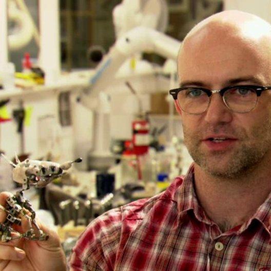 Andy Gent - Supervising Puppet Modeller - über die Puppen - OV-Interview Poster