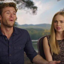 Britt Robertson und Scott Eastwood darüber sich seinen Ängsten zu stellen - OV-Interview Poster