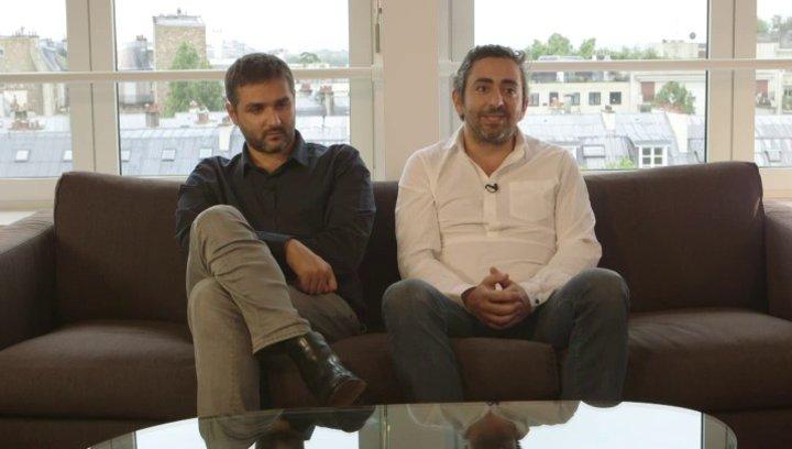 Olivier Nakache & Eric Toledano - Regisseure - über ihre Recherchen zum Film - OV-Interview Poster