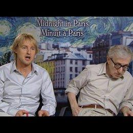 Owen Wilson (Gil) und Woody Allen (Regie) über seine Rolle Gil - Wilson - OV-Interview Poster