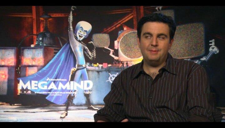 Bastian Pastewka (deutsche Stimme Megamind) über Megamind als Bösewicht und warum er die Rolle spricht - Interview Poster