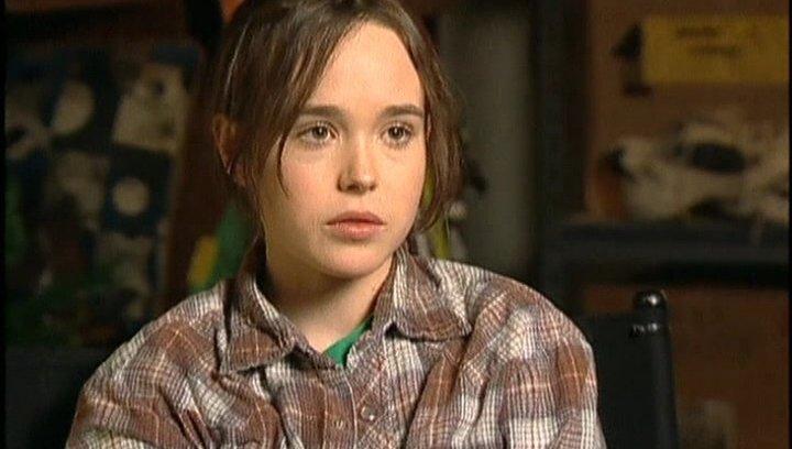 Interview mit Ellen Page ( Juno MacGuff ) - OV-Interview Poster