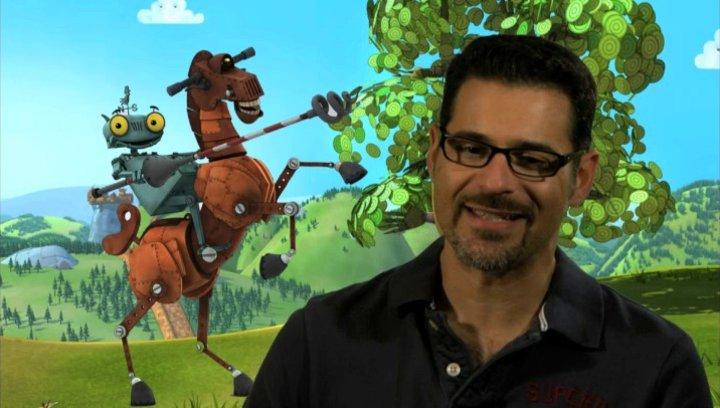 Rick Kavanian über die Figur Ritter Rost - Interview Poster