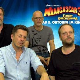 Die Fantastischen Vier - Die Pinguine - was an MADAGASCAR 3 so toll ist - Interview Poster