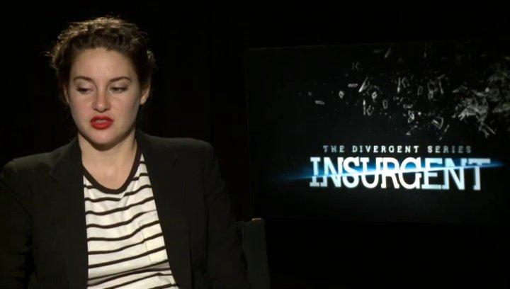 Shailene Woodley - Tris - was ist neu bei Insurgent - OV-Interview Poster