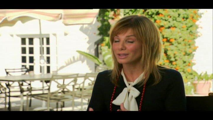 """Sandra Bullock - """"Mary Horowitz"""" & Produktion / über ihre Rolle - OV-Interview Poster"""