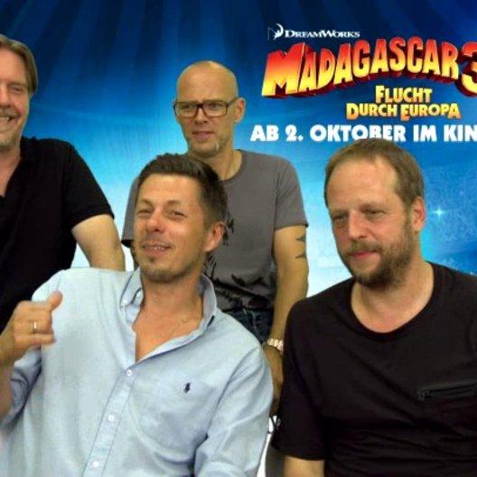 Die Fantastischen Vier - Die Pinguine - über die Charaktere der Pinguine - Interview Poster
