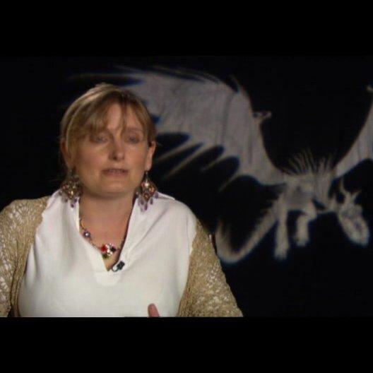 """CRESSIDA COWELL - Buchautorin: """"wie DreamWorks ihr Buch übernahm"""" - OV-Interview Poster"""