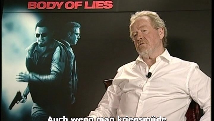 Interview mit Ridley Scott Poster
