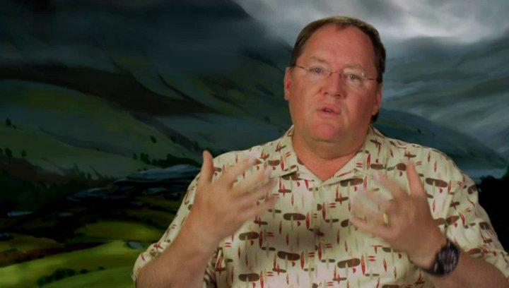 John Lasseter - Executive Producer - Was ihn an dem Projekt gereizt hat - OV-Interview Poster