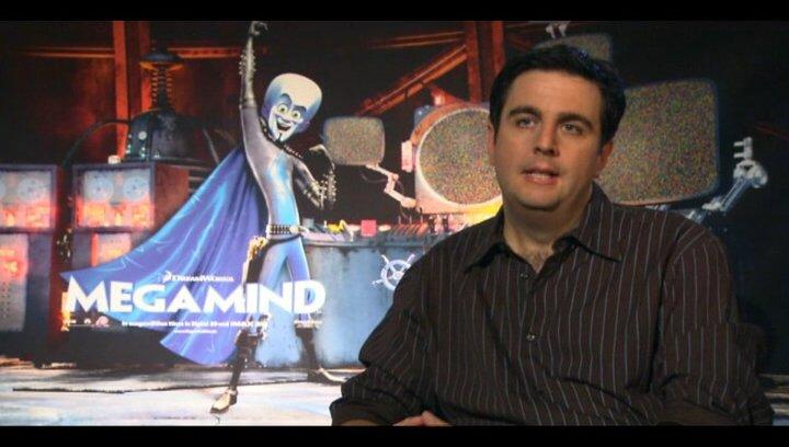 Bastian Pastewka (deutsche Stimme Megamind) über die Beziehung zwischen Megamind und Metroman und deren finalen Kampf - Interview Poster