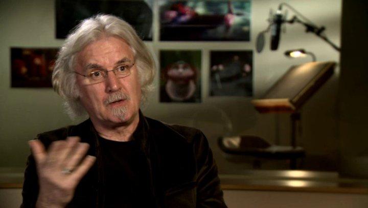 Billy Connollly - Originalstimme Koenig Fergus - über den Film - OV-Interview Poster