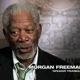 Morgan Freeman über das Projekt - OV-Interview Poster